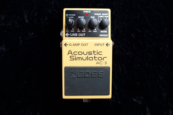 Boss ac3 guitar pedal 2