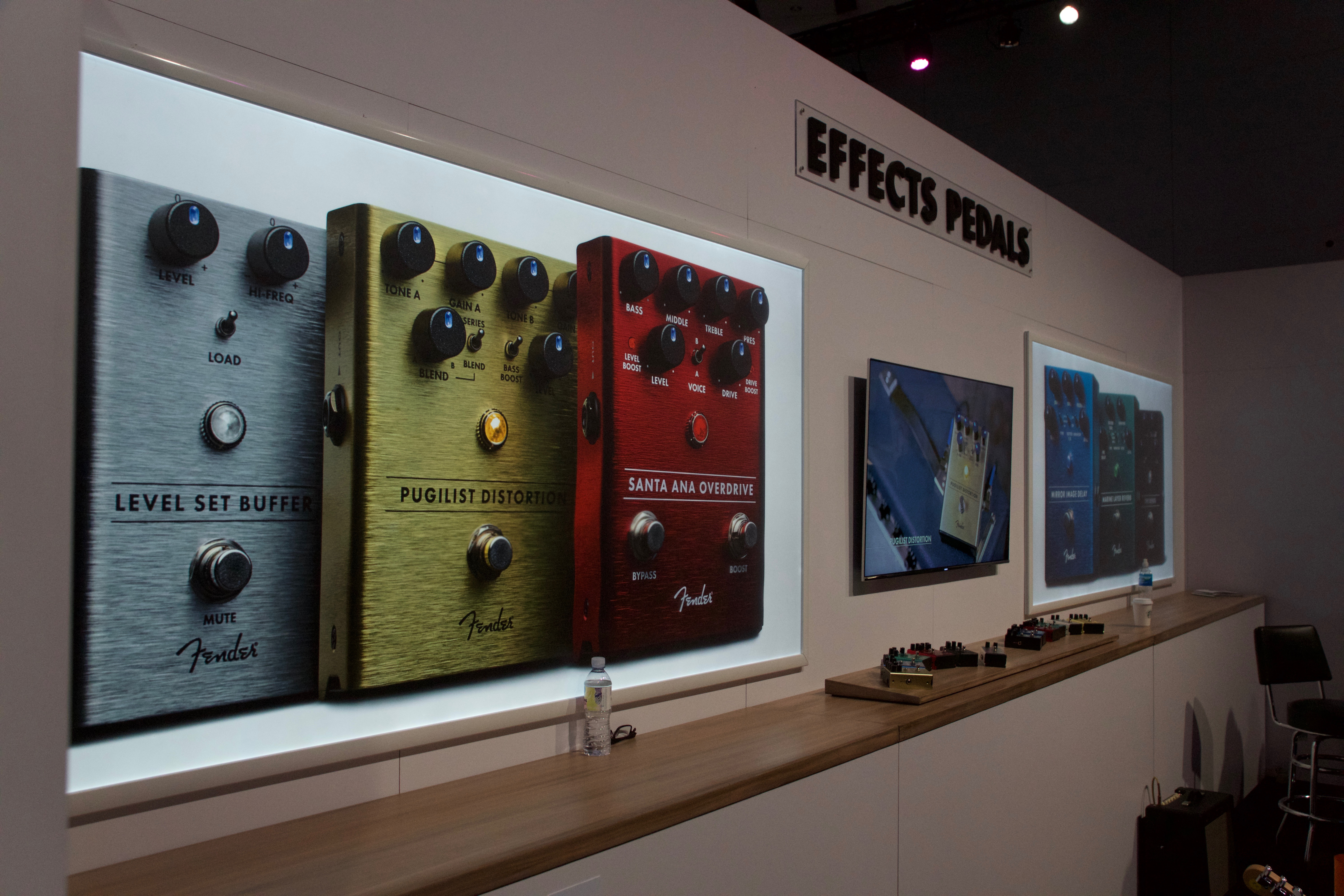 Fender effects booth namm 2018