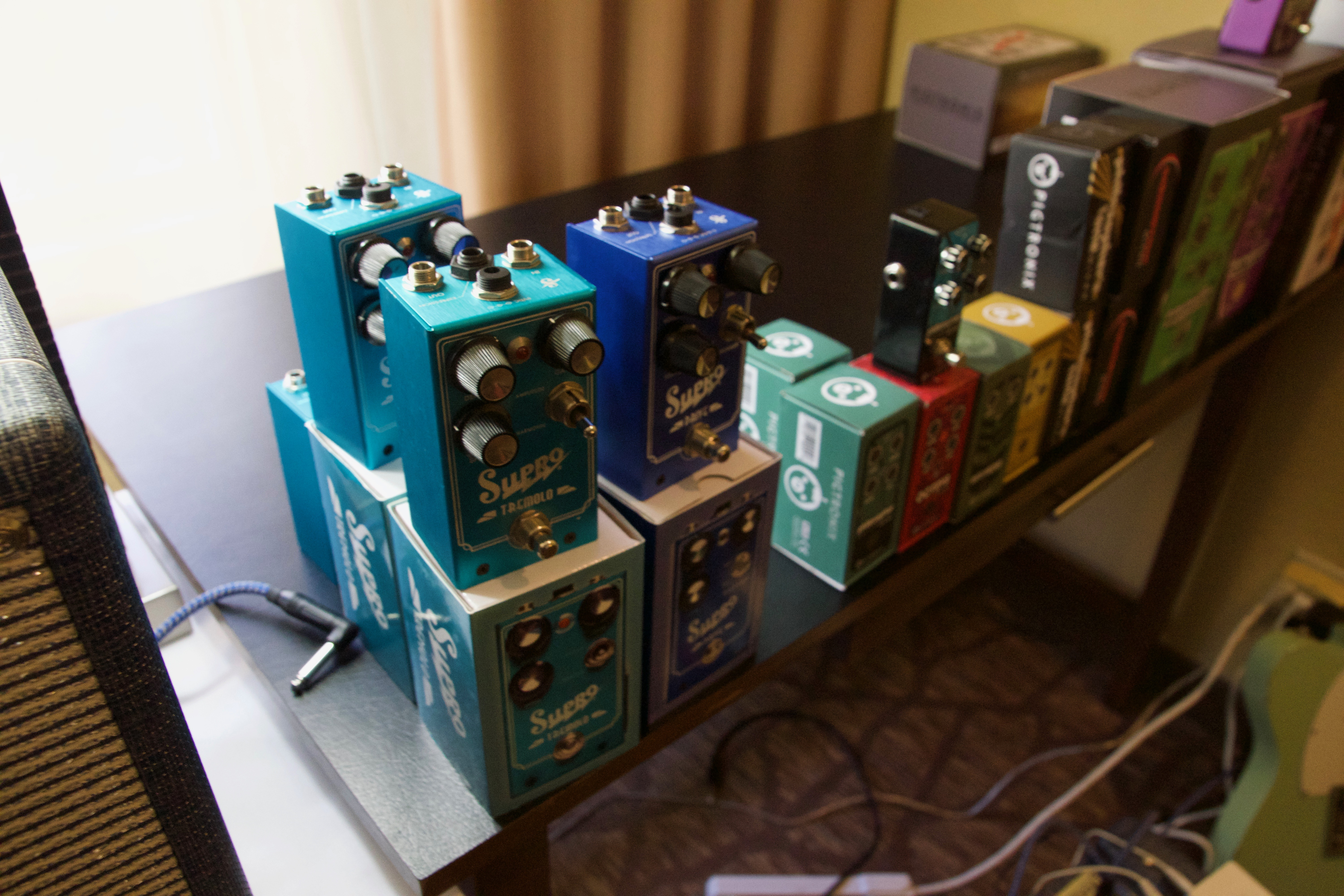 Supro pedals