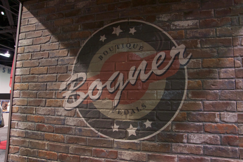 Bogner pedals logo namm 18